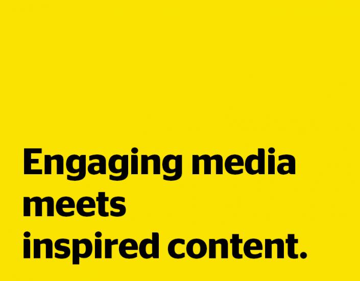 Yaffa Media: Engaging media meets inspired content.