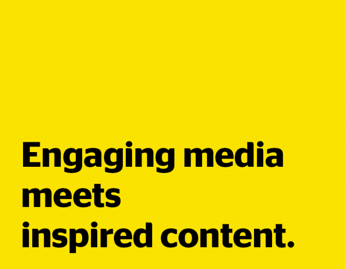 Yaffa Media: Engaging media meets inspired content.